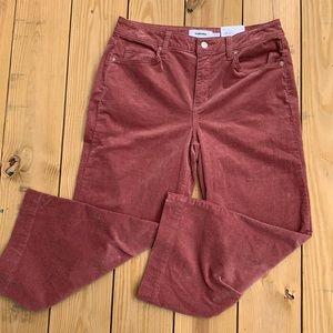 Women's Sonoma Corduroy Wide Leg Crop Pants